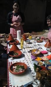 lalla fatima cuisine fatima grabbing the couscous picture of cuisine marrakech