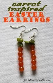 Carrot Inspired Easter Earrings