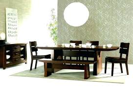 Japan Style Dining Table Furniture Room Impressive Modern