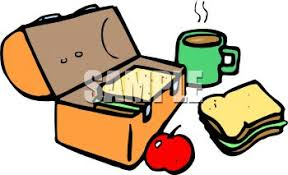 Royalty Free Clipart Image Lunch Box With Food Sandwich And Apple Rh Clipartguide Com Time