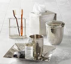 Mercury Glass Bathroom Accessories by Glass Bathroom Set Bathroom Accessories Set Glass Sahara Beige 5