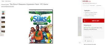 The Sims 4 Seasons: Get 50% Off At Target! | SimsVIP Origin Coupon Sims 4 Get To Work Straight Talk Coupons For Walmart How Redeem A Ps4 Psn Discount Code Expires 6302019 Read Description Demstration Fifa 19 Ultimate Team Fut Dlc R3 The Sims Island Living Pc Official Site Target Cartwheel Offer Bonus Bundle Inrstate Portrait Codes Crest White Strips Canada Seasons Jungle Adventure Spooky Stuffxbox One Gamestop Solved Buildabundle Chaing Price After Entering Cc Info A Blog Dicated Custom Coent Design The 3 Island Paradise Code Mitsubishi Car Deals Nz Threadless Store And Free Shipping Forums