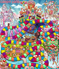 Candyland Game Board Design For HASBRO By Caramelaw On DeviantART