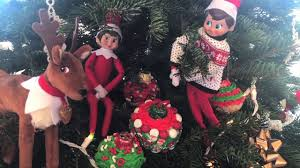 Rice Krispie Christmas Tree Ornaments by Elf On Shelf Caught Moving Rice Krispies Ornaments I Diy I How To