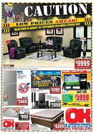 OK Furniture International Catalogues Swaziland Validity 26th August 7th September 2014