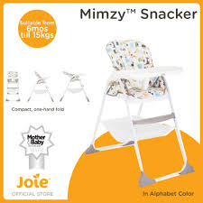 Joie Mimzy Snacker High Chair - Alphabet Fisherprice Healthy Care Deluxe Booster Seat Babies R Us Canada Luv U Zoo Ez Clean High Chair Spacesaver Pink Ellipse Baby Bove Chicco Highchair Polly Progres5 Babiesrus Grubby Bubby Chairrocker Cover Fuchia 1500 Zbee Handmade And Stylish Replacement High Chair Covers For Evenflo Www Sitmeup Floor Girl Adorable Animals Amazon Exclusive Precious Planet Takealong Swing In Khaki Sands