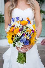 Texas Wildflower And Sunflower Bouquet In Austin