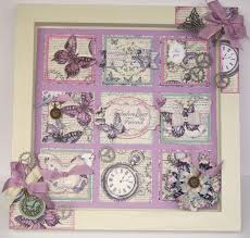 Home Decor Picture Created Using Time Flies Patchwork CardsHome PicturesPicture DesignPicture IdeasCraftwork