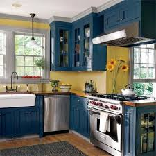 Editors Picks Our Favorite Cottage Kitchens Blue Yellow