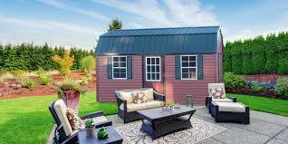 Vinyl Shed With Classy Red Siding   NEW! Addition To Our Sheds Line Outdoor Storage Sheds Kits Outside Shed Wood Plans Cheap Backyard Barns And For The Amish Built Best 25 Dormer Tools Ideas On Pinterest Roof Trusses Remodelaholic Cute Diy Chicken Coop With Attached Storage Sheds Small 80 Incredible Makeover Design Ideas Shed Attached To House House Backyard 27 Creative That Look Like Houses Pixelmaricom Wooden Prefab Custom Modular Buildings Woodtex