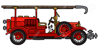 100 Fire Truck Clipart Hand Drawing Of A Vintage Royalty Free S Vectors