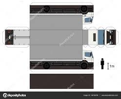 100 Paper Truck Model Of A Truck Stock Vector Martin2015 138198784