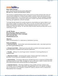 25 Job Skills For Resume | Sofrenchy Resume Examples