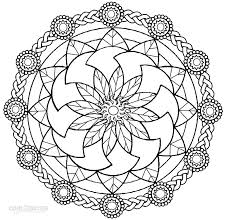 Great Printable Mandala Coloring Pages 24 For Free Book With