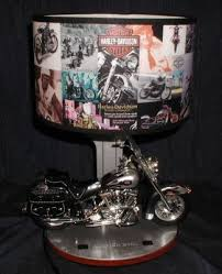 Harley Davidson Lamps Target by Harley Davidson Motorcycle Table Desk Lamp With Engine Sounds