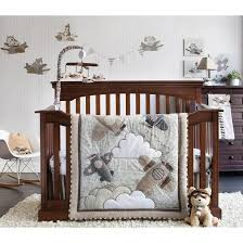 Nursery fort Airplane Crib Bedding For Baby Sleep Well