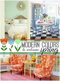 Home Decor Inspiration In Modern Spring Colors