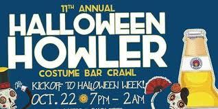 Charlotte Nc Halloween Pub Crawl by Halloween Howler Bar Crawl 2016 At Epicentre Nc Charlotte