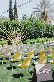 mid century modern vintage wedding palm springs 100 layer cake