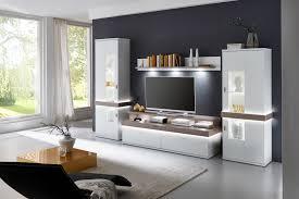 ideal möbel wohnwand albi weiß nelson nordic möbel letz