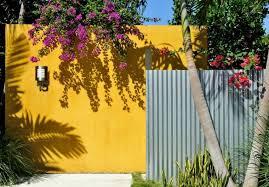 mur de separation exterieur déco mur extérieur jardin 51 belles idées à essayer