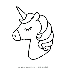 Unicorn Coloring Pages To Print Unicorns Printable Head