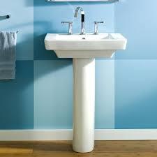 Memoirs Pedestal Sink 24 by Bathroom Sinks Boulevard 24 Inch Pedestal Sink White16 Wide 16