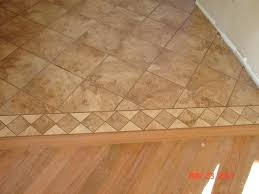 Ceramic Tile To Carpet Transition Strips by Installing Tile Flooring Transition To Smooth The Two