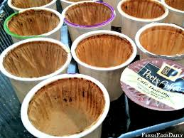 K Cup Recycling Toss The Grounds In Your Garden And Turn Cups Into Seed Starters