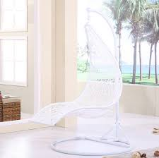 Round Hanging Swing Chair White Outdoor Chairs