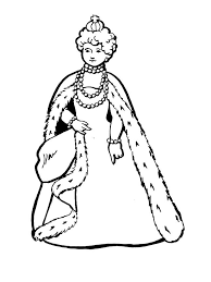 Free Coloring Pages The Art Gallery Queen