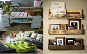 Wood Pallets Decoration And Functionality