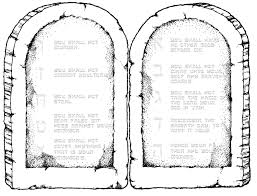 Ten Commandments Printable For 8 1 2 X 11 Paper Have Your Bible Coloring PagesTen