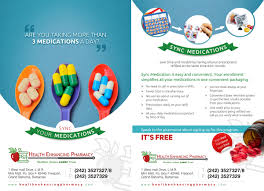 Flyer Design By Theziners For Bahamas Pharmacy Requires Sync Meds Re