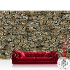 vlies fototapete no 1146 steinwand tapete steinmauer steinwand steinoptik muster grau braun braun