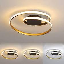 led 2 ringe deckenleuchte dimmbar mit fernbedienung leuchte wohnzimmer deckenle weiß rund acryl lenschirm le schlafzimmer