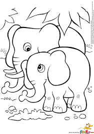 11 Best Cute Baby Elephant Coloring Pages Images On Pinterest