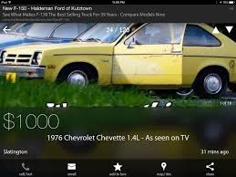 I Found The RCR Chevette For Sale On Craigslist, Complete With ... Craigslist Central Louisiana Used Cars For Sale By Owner Lowest Vancouver By Ownercraigslist Amarillo Tx And The Best Chicago Trucks For Car Buyer Scammed Out Of 9k After Replying To Ad Abc7com Monroe And Chevy Ford San Antonio Hshot Trucking Pros Cons The Smalltruck Niche Dallas New Orleans Auto Electrical Wiring Diagram 7 Smart Places Find Food Waterloo Iowa Options Under 2000