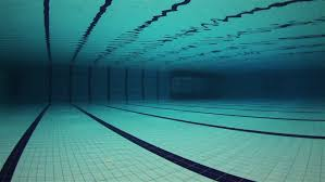 Hd0022Empty Olympic Swimming Pool Underwater