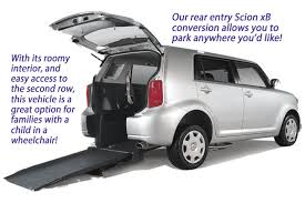 The Scion XB Wheelchair Handicap Accessible Car Conversion