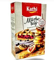 kathi german shortcrust cookie dough baking mix