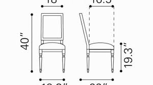 Fancy Ideas Dining Chair Seat Height 22 Average 21 20 Inches Room