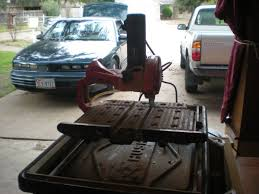 husky tile saw thd950l husky thd950l tile saw espotted