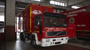100 Fire Truck Museum Truck At The Fire Station And The Museum In Milan Stock Video