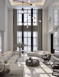 100 Modern Home Interior Ideas High Ceilings Black And White Interior In 2019 High