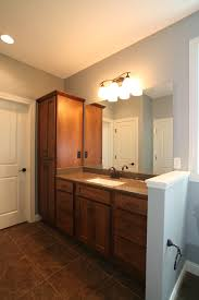 Bertch Bathroom Vanities Pictures by Adding A Privacy Kneewall Between The Vanity And Toilet Keeps