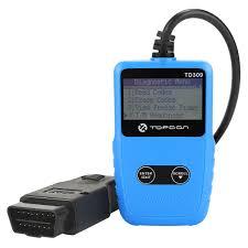 Amazoncom TT TOPDON TD309 Car Code Reader OBD2EOBD Diagnostic