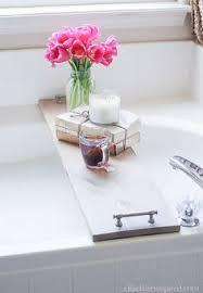 Diy Bathtub Caddy With Reading Rack by Nearly Handmade So Simple Bathtub Table Gift Ideas Pinterest