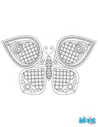 Look At This Beautiful Butterfly Mandala Graphic And Original Coloring Page To Amuse Kids Or