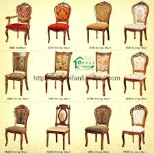 Dining Chairs Superb Styles Classic Chair Full Room Furniture History